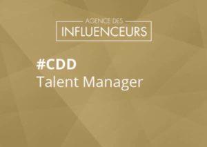 job agent d'influenceurs
