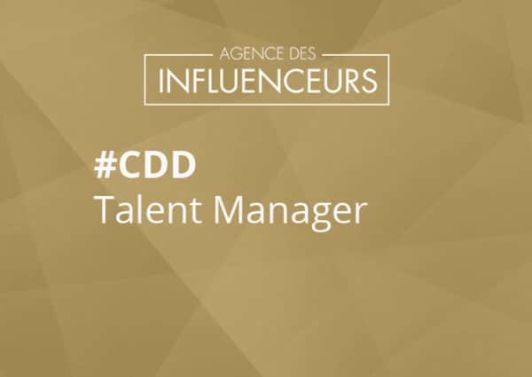 job agent d'influenceurs