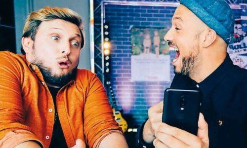 McFly et Carlito filtre Instagram