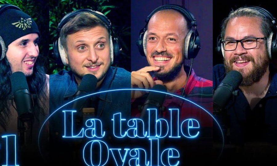 Table Ovale le podcast de Mcfly et Carlito